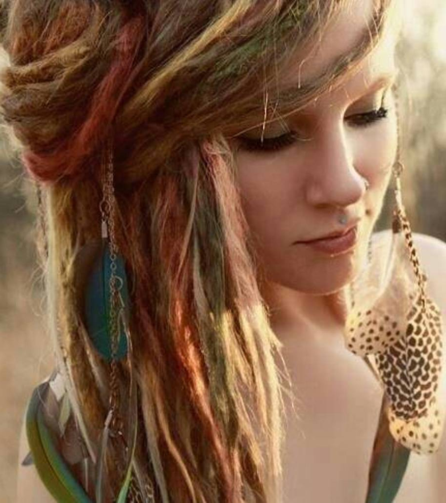 Latest Bohemian Medium Hairstyles Intended For Picking Boho Hairstyles With Simple Braids For Fine Medium Length (View 10 of 20)