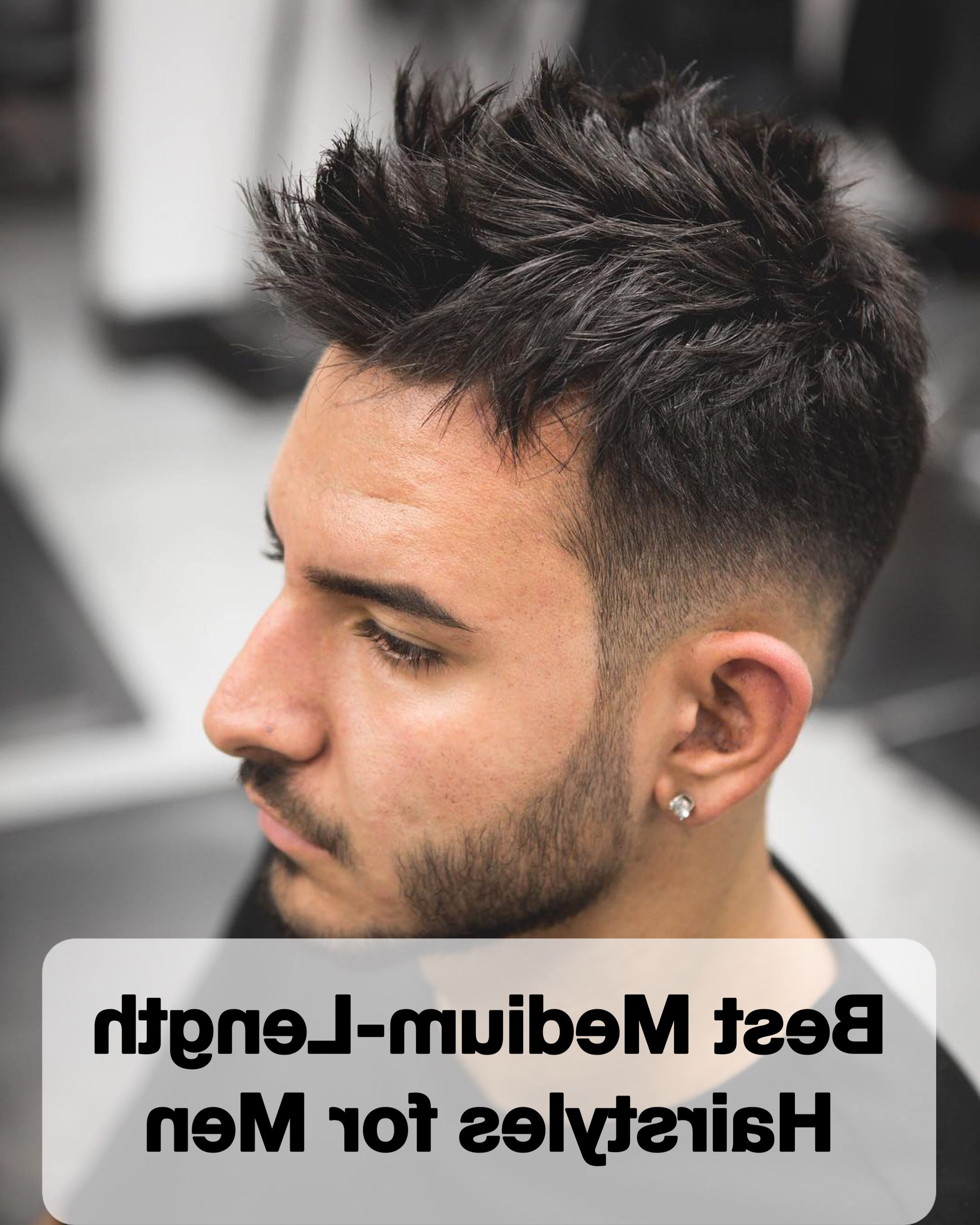 Latest Fauxhawk Hairstyles With Front Top Locks Regarding 20 Best Medium Length Hairstyles For Men In 2018 (Gallery 14 of 20)