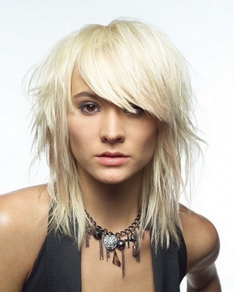 Latest Hairstyles And Haircuts For With Newest Medium Hairstyles With Choppy Layers (View 9 of 20)
