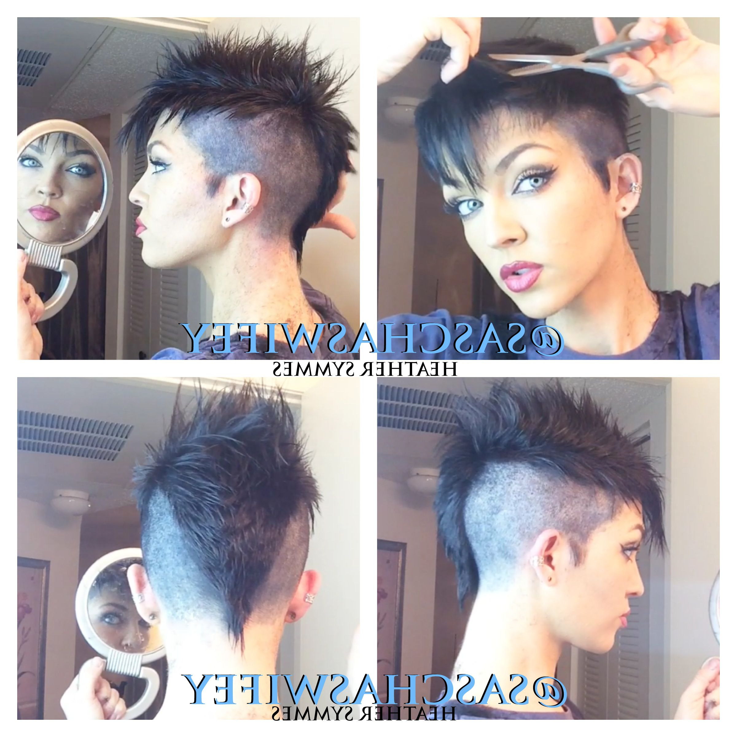 Latest Heartbeat Babe Mohawk Hairstyles Pertaining To Faux Hawk/ Mohawk (Gallery 9 of 20)