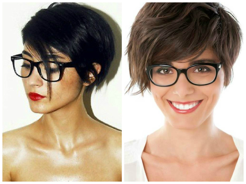 Latest Medium Haircuts For Women Who Wear Glasses Intended For The Best Short Hairstyles To Wear With Glasses – Hair World Magazine (View 9 of 20)