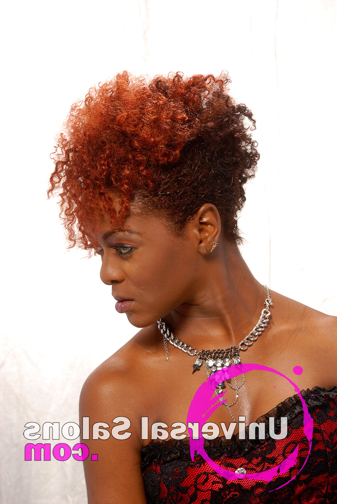 Latest Purple Rain Lady Mohawk Hairstyles In 10 Awesome Hair Color Techniques For Black Women (Gallery 16 of 20)