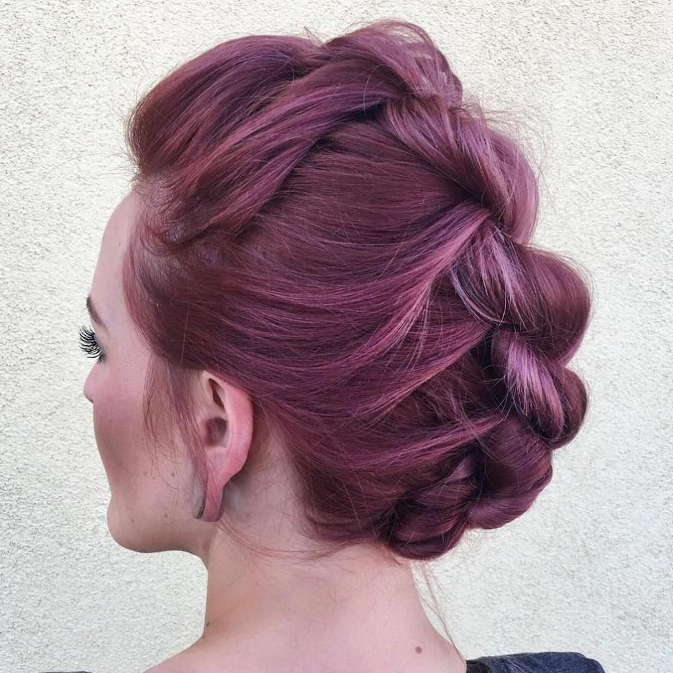 Latest Vibrant Red Mohawk Updo Hairstyles Intended For 70 Most Gorgeous Mohawk Hairstyles Of Nowadays In (View 14 of 20)