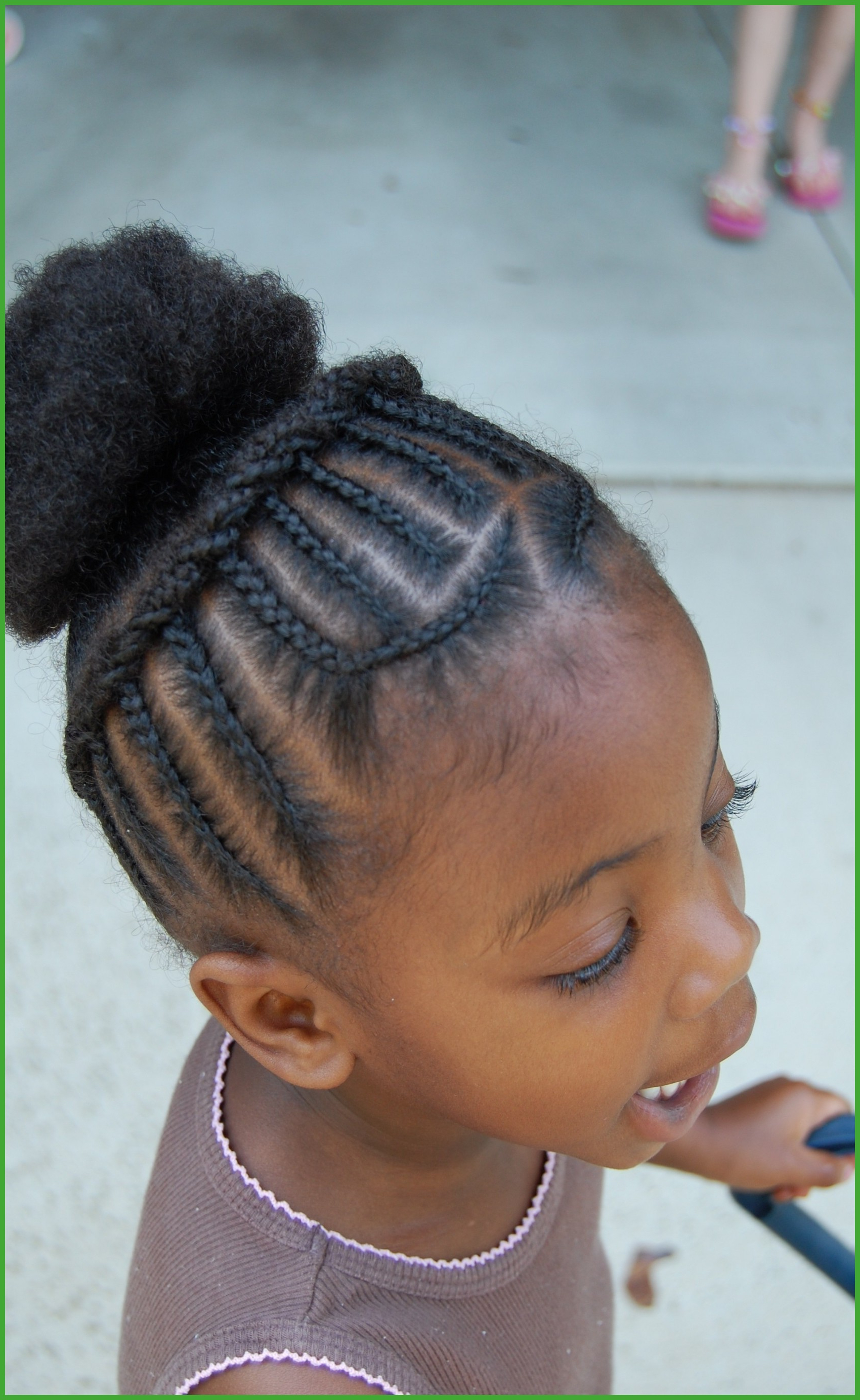 Little Girls Hairstyles For Weddings New Little Girl Curly Within Favorite Heartbeat Babe Mohawk Hairstyles (Gallery 16 of 20)