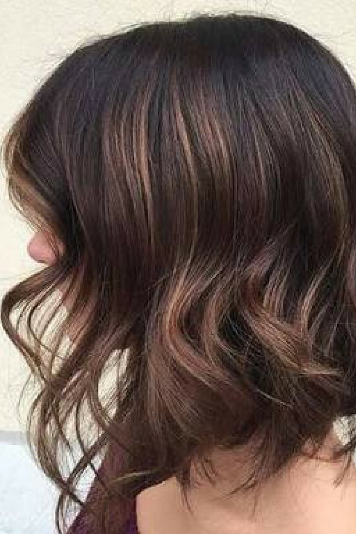 Lob Haircut With Layers For Brunettes (View 2 of 20)
