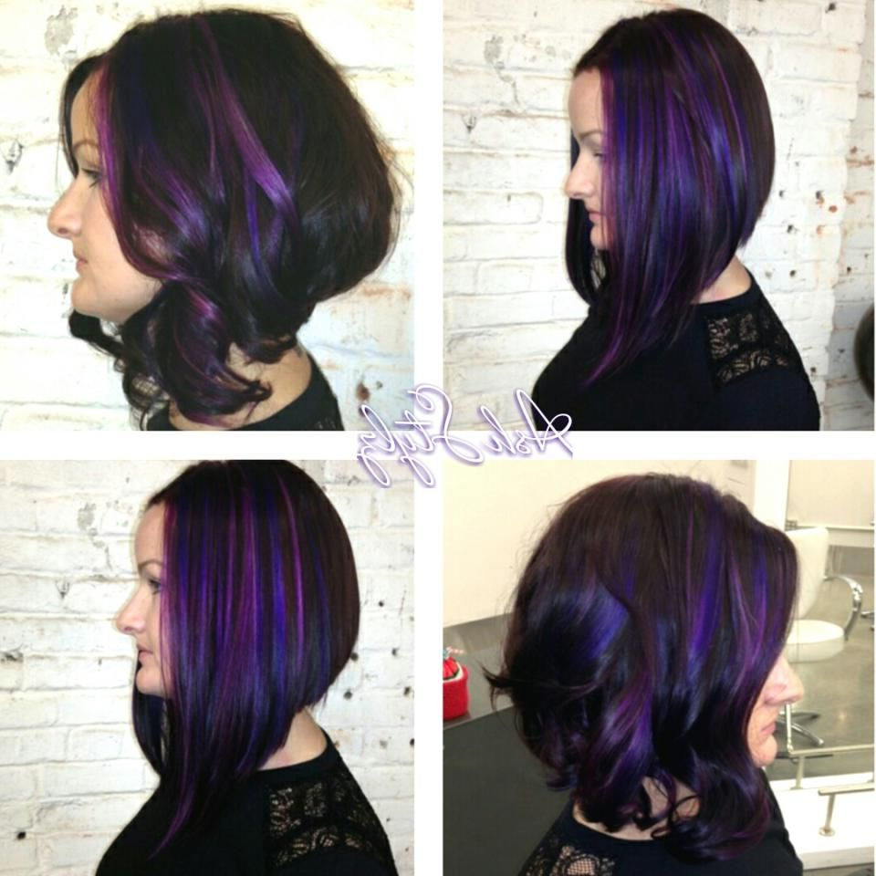 Long Angled Bob, With Purple Dimensions. – News (Gallery 3 of 20)