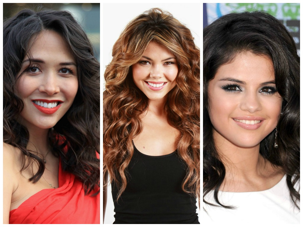 Long Curly Hairstyles For A Round Face – Hair World Magazine Within Well Known Best Medium Haircuts For Round Face (View 12 of 20)