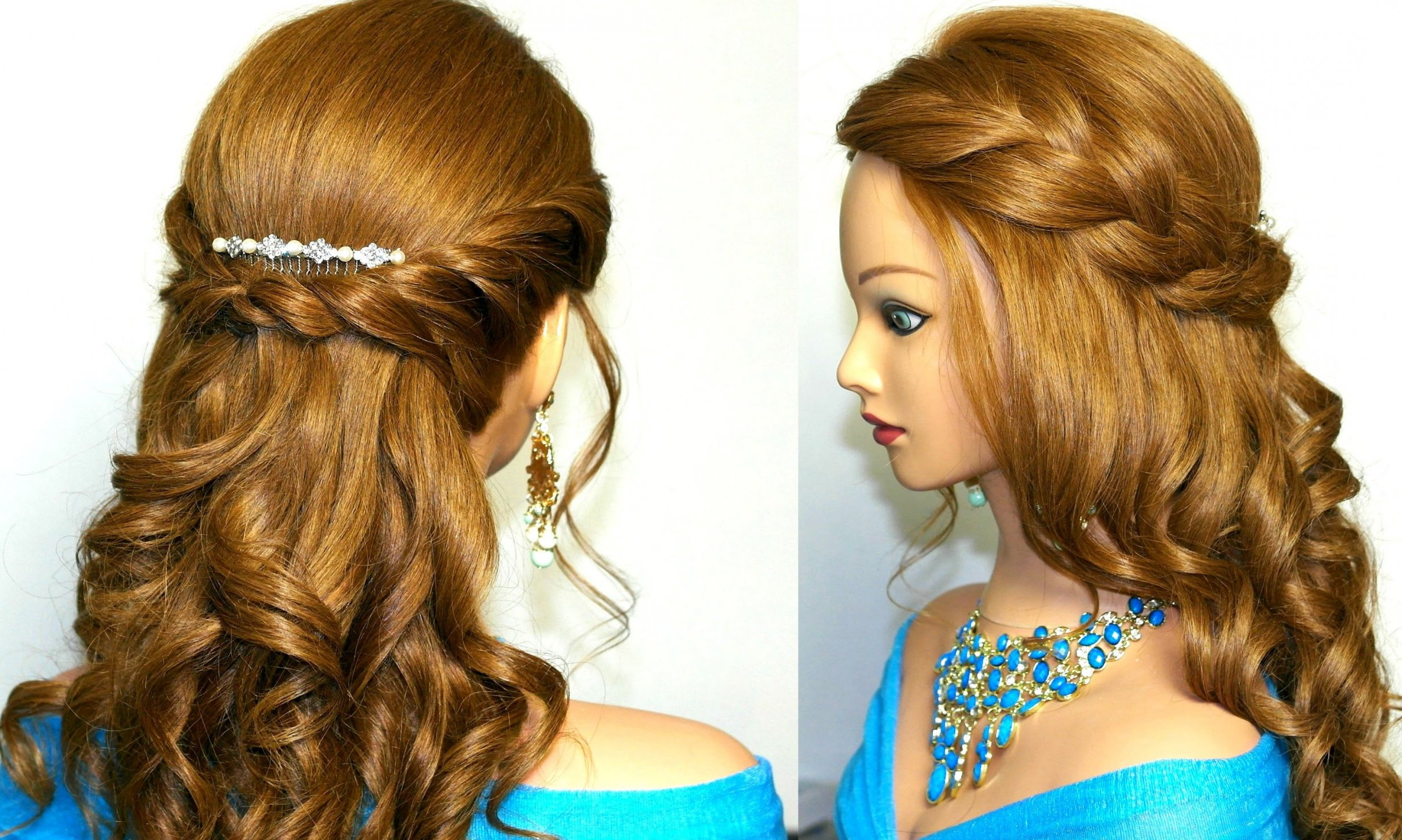 Long Curly Hairstyles Prom » Best Hairstyles & Haircuts For All Hair Inside Well Liked Curly Medium Hairstyles For Prom (Gallery 4 of 20)