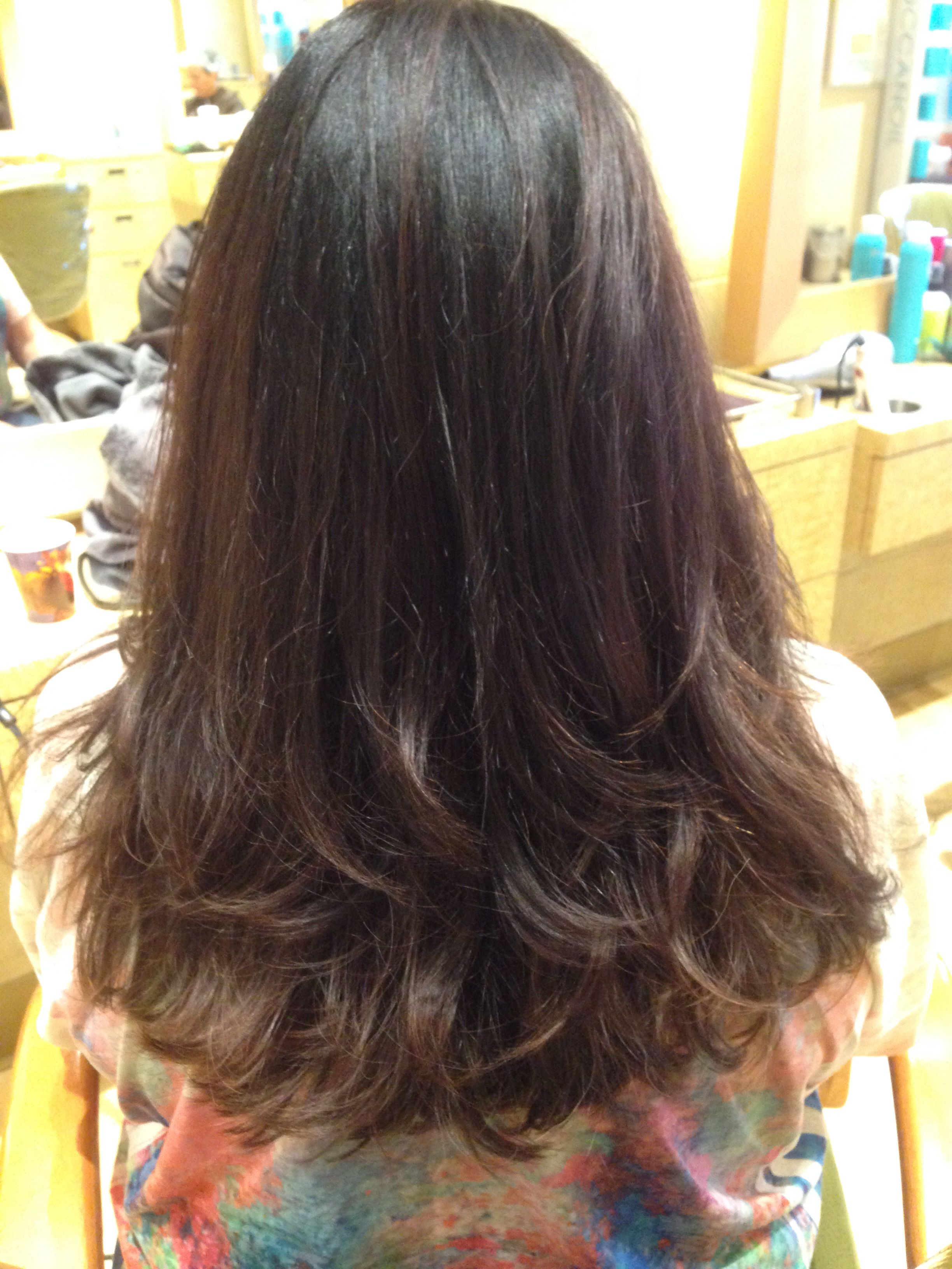 Long Hair Cut With Layering And Texture In The Bottom (View 18 of 20)