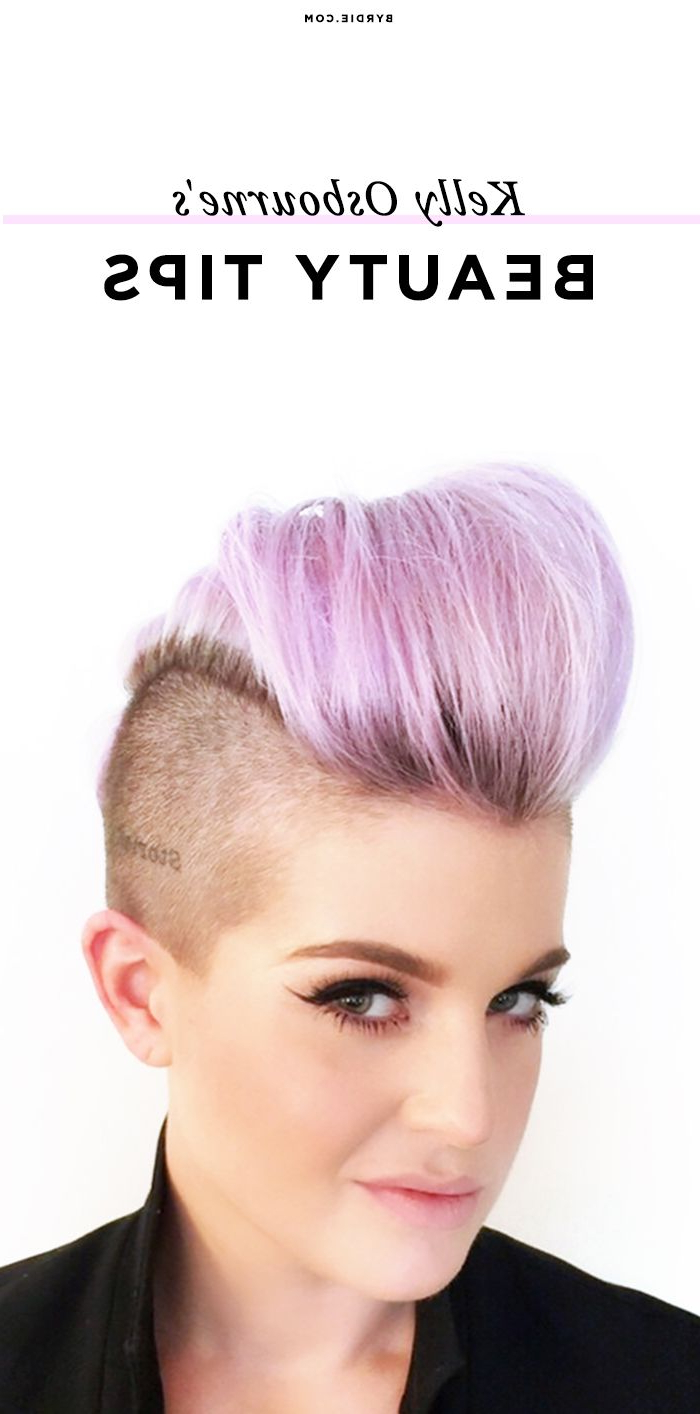 Make Up Inside Well Known Kelly Osbourne Medium Haircuts (View 11 of 20)