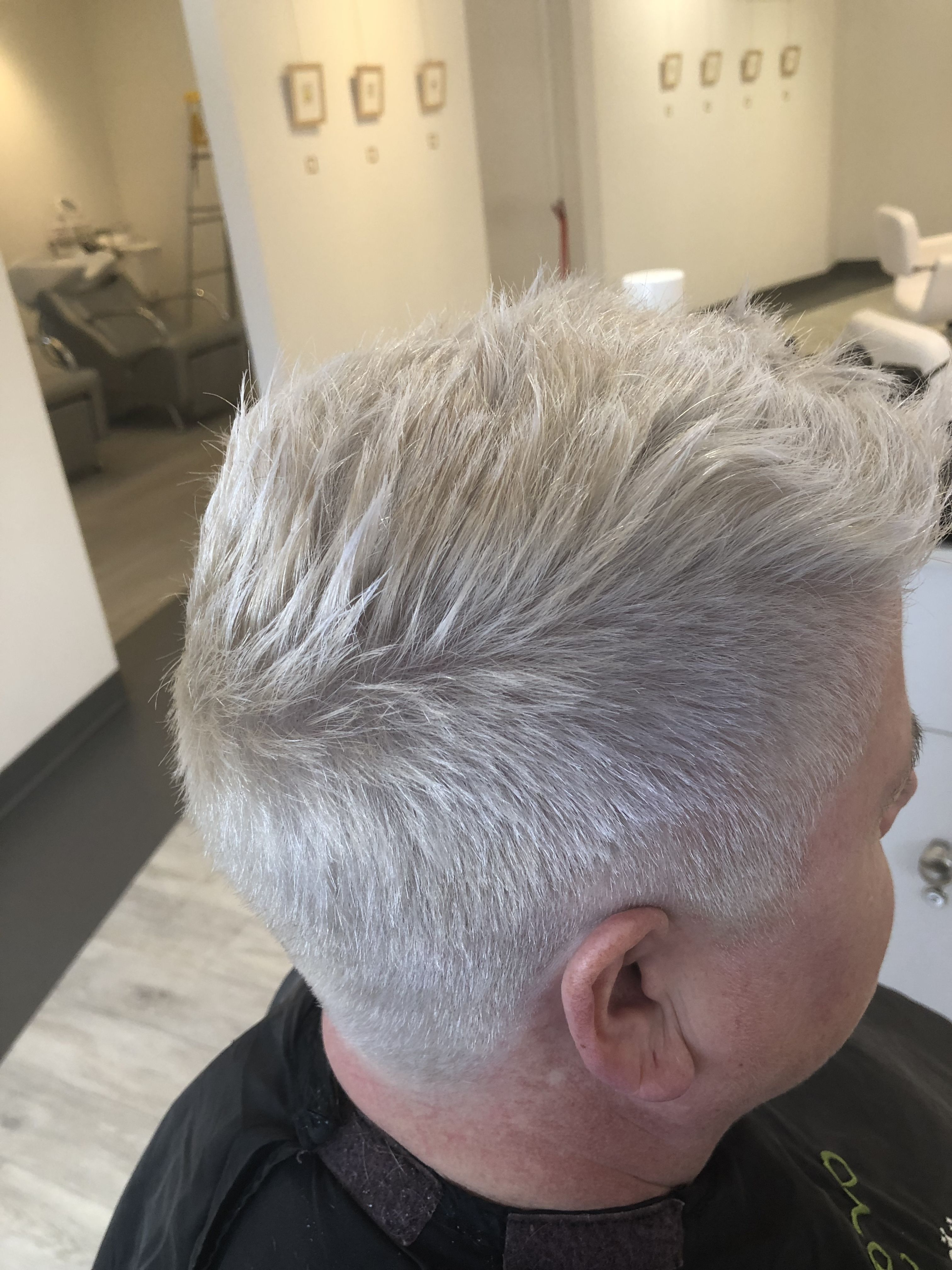 Maureen's Marvelous Throughout Preferred Silvery White Mohawk Hairstyles (View 9 of 20)