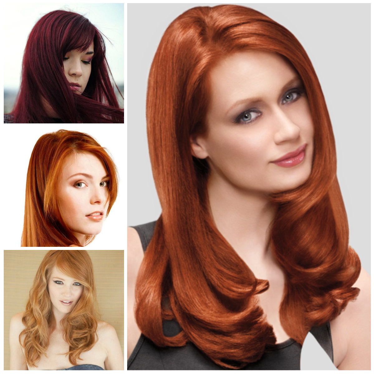 Medium Copper Red Hair – Hairstyle For Women & Man For Fashionable Medium Haircuts With Red Hair (View 6 of 20)