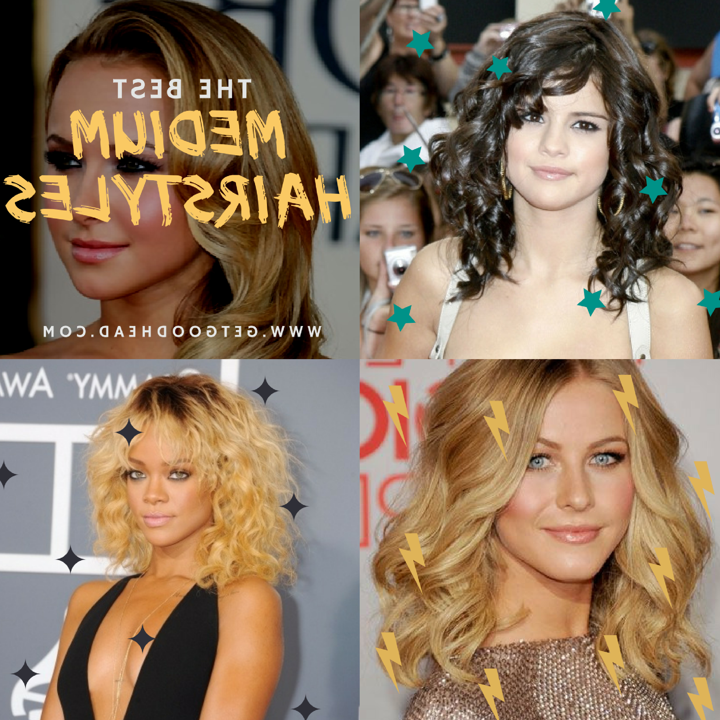 Medium Hair Styles – Get Good Head Throughout Famous Medium Length Cascade Hairstyles (View 9 of 20)