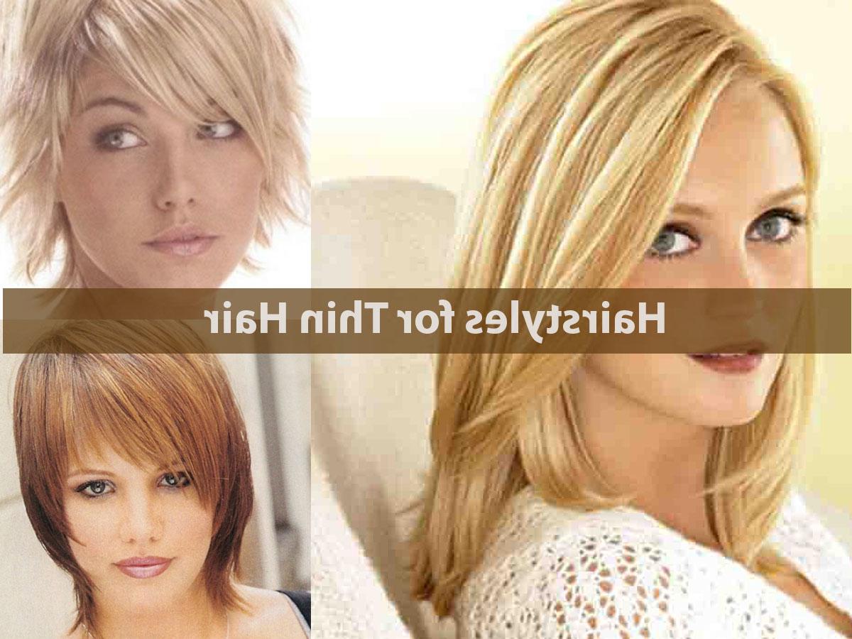 Medium Haircuts Thin Hair – Hairstyle For Women & Man Throughout Preferred Medium Haircuts Thin Hair (View 14 of 20)