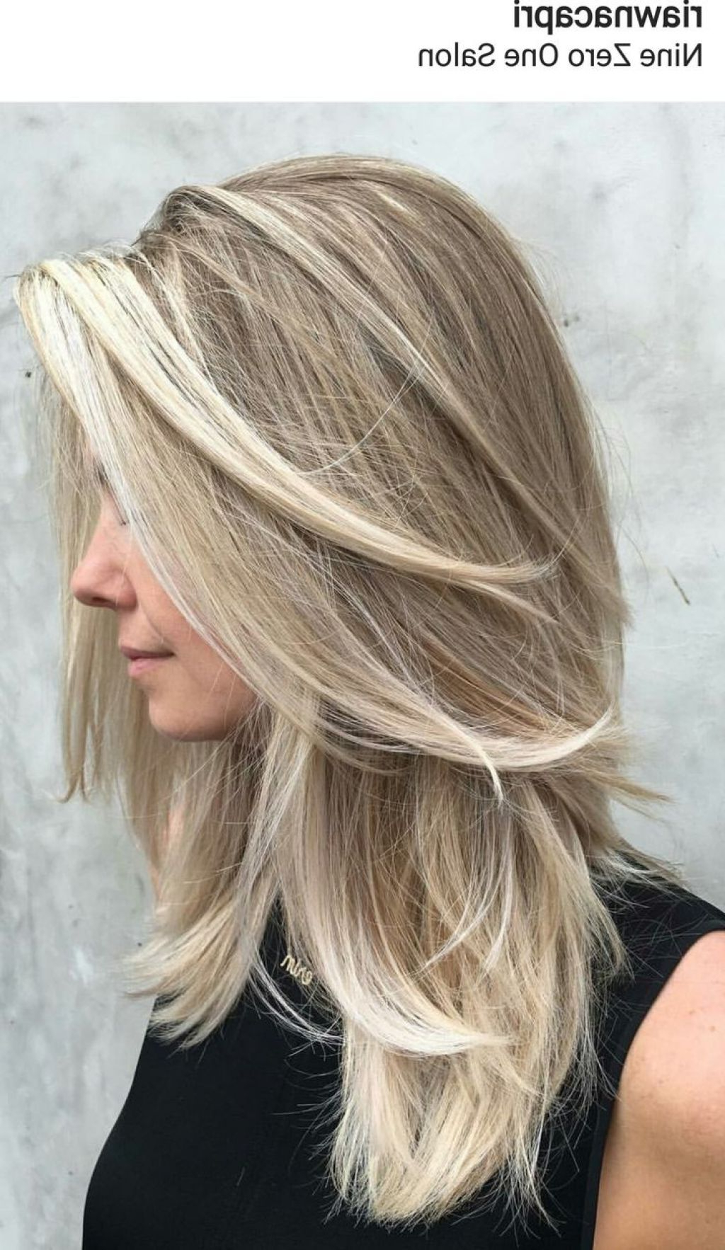 Medium Hairstyle : Layered Hairstyles For Medium Length Hair With Throughout Recent Medium Hairstyles With Side Swept Bangs And Layers (View 9 of 20)