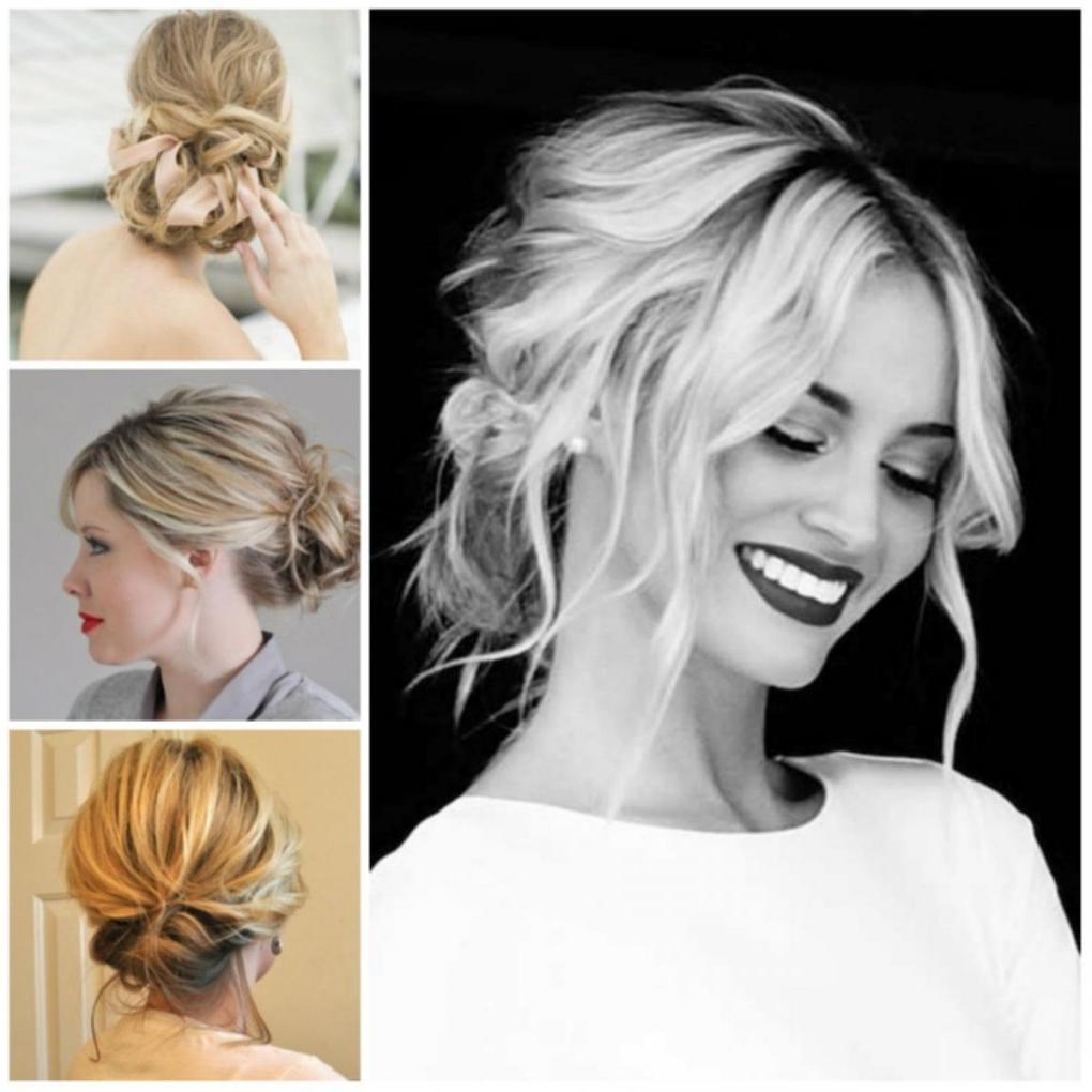 Medium Hairstyle : Updos For Medium Length Hair Engaging Bridesmaid Pertaining To Recent Medium Hairstyles Bridesmaids (View 16 of 20)