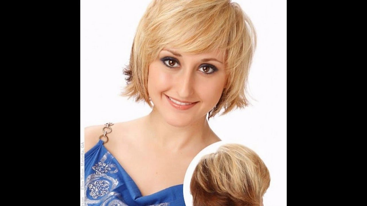 Medium Hairstyles For Fine Hair Round Face – Youtube Intended For Favorite Medium Hairstyles For Round Faces And Fine Hair (View 18 of 20)