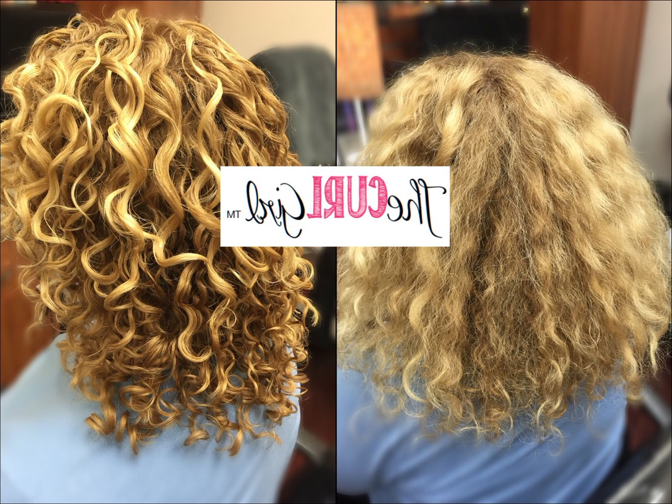 Medium Length Blonde Naturally Curly Hair (View 16 of 20)