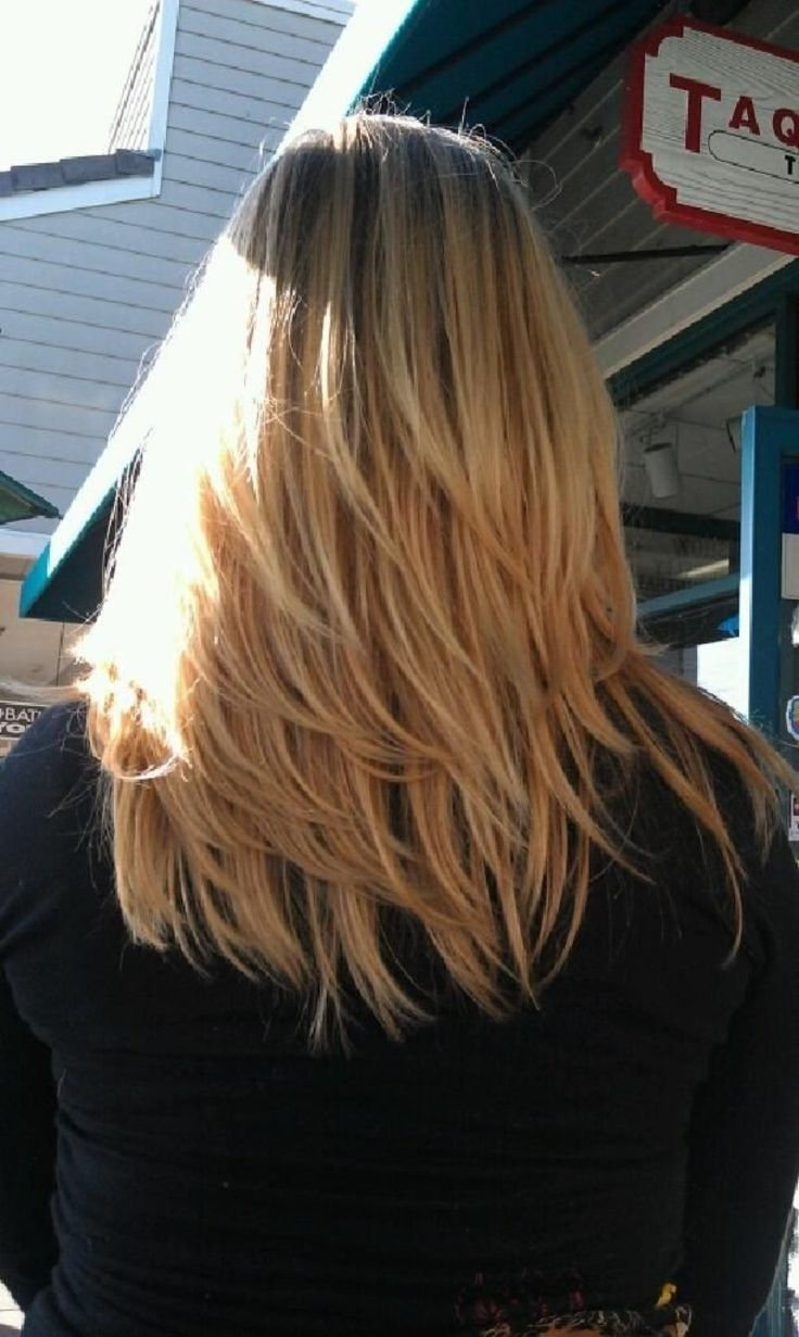 Medium Length Layered Hairstyles Back View 2015 ~ Best Hairstyles Within Well Known Medium Medium Hairstyles With Layers (View 12 of 20)