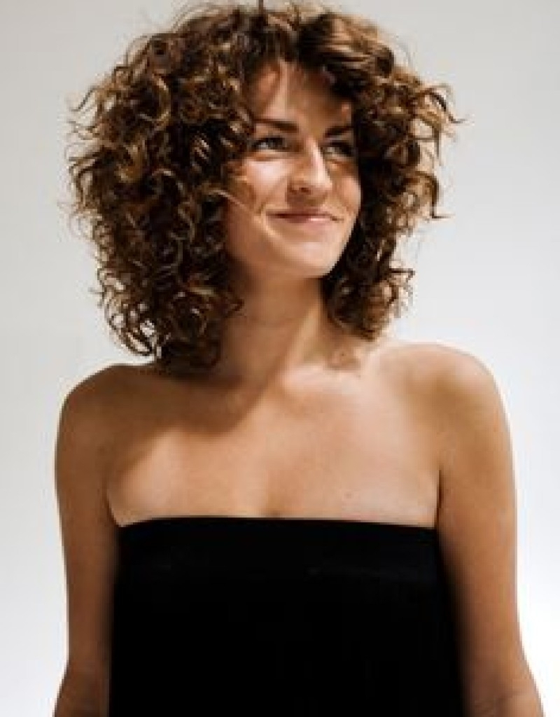 Medium Length Naturally Curly Hairstyles – Leymatson Regarding Current Natural Medium Haircuts (View 12 of 20)