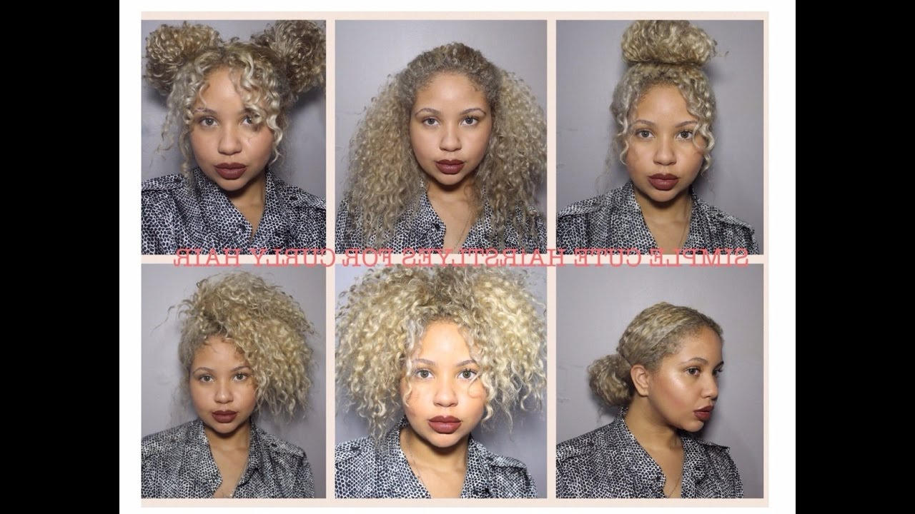 Medium Length Naturally Curly Hairstyles – Leymatson With Recent Naturally Curly Medium Hairstyles (View 15 of 20)