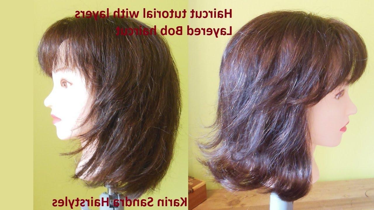 Medium Long Length Layered Bob Regarding Most Up To Date V Shaped Layered Medium Haircuts (View 16 of 20)