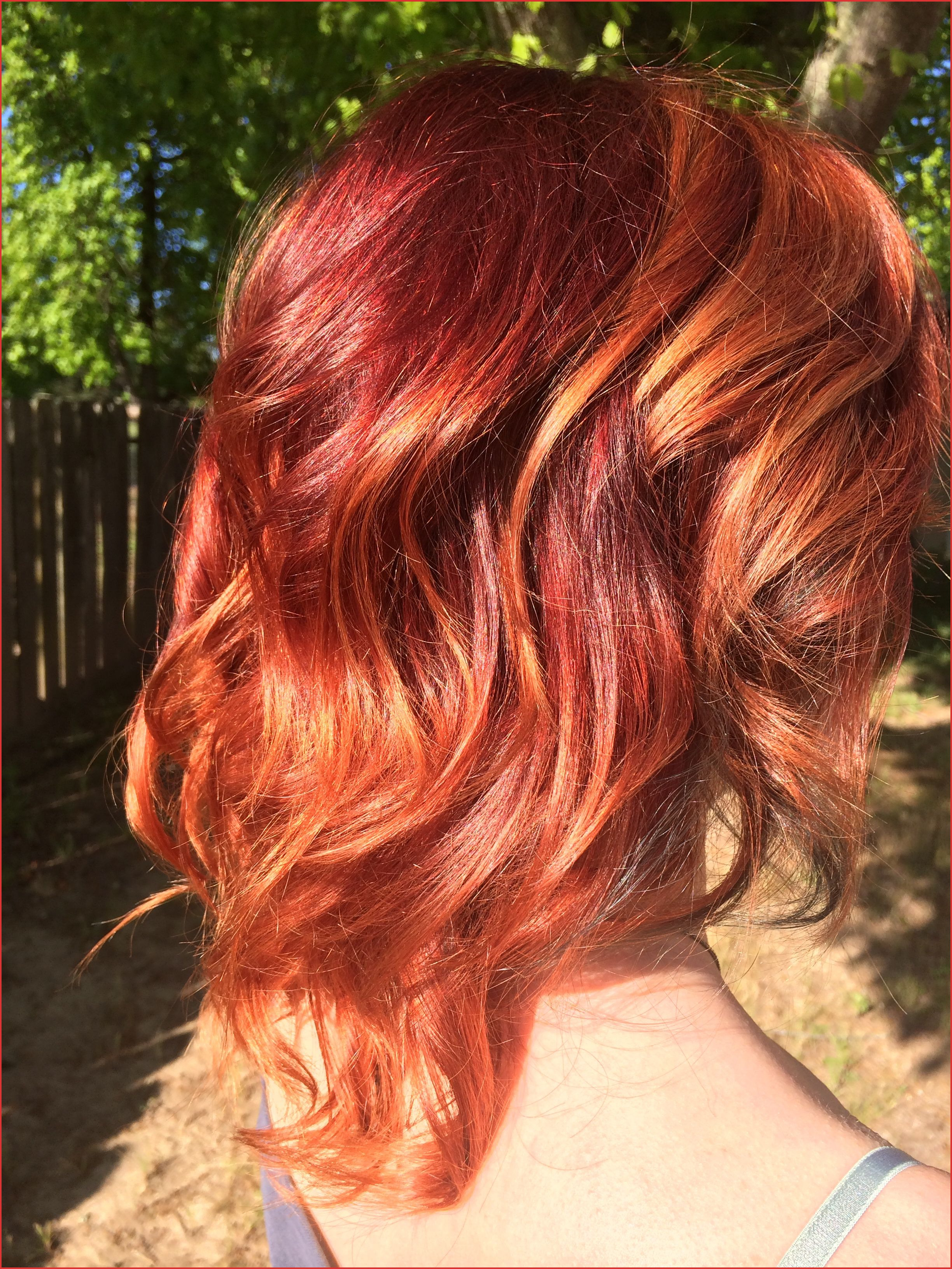 Medium Reddish Brown Hair Color 26939 Balayage Red Hair And Blonde Inside 2018 Medium Haircuts With Fiery Ombre Layers (View 12 of 20)