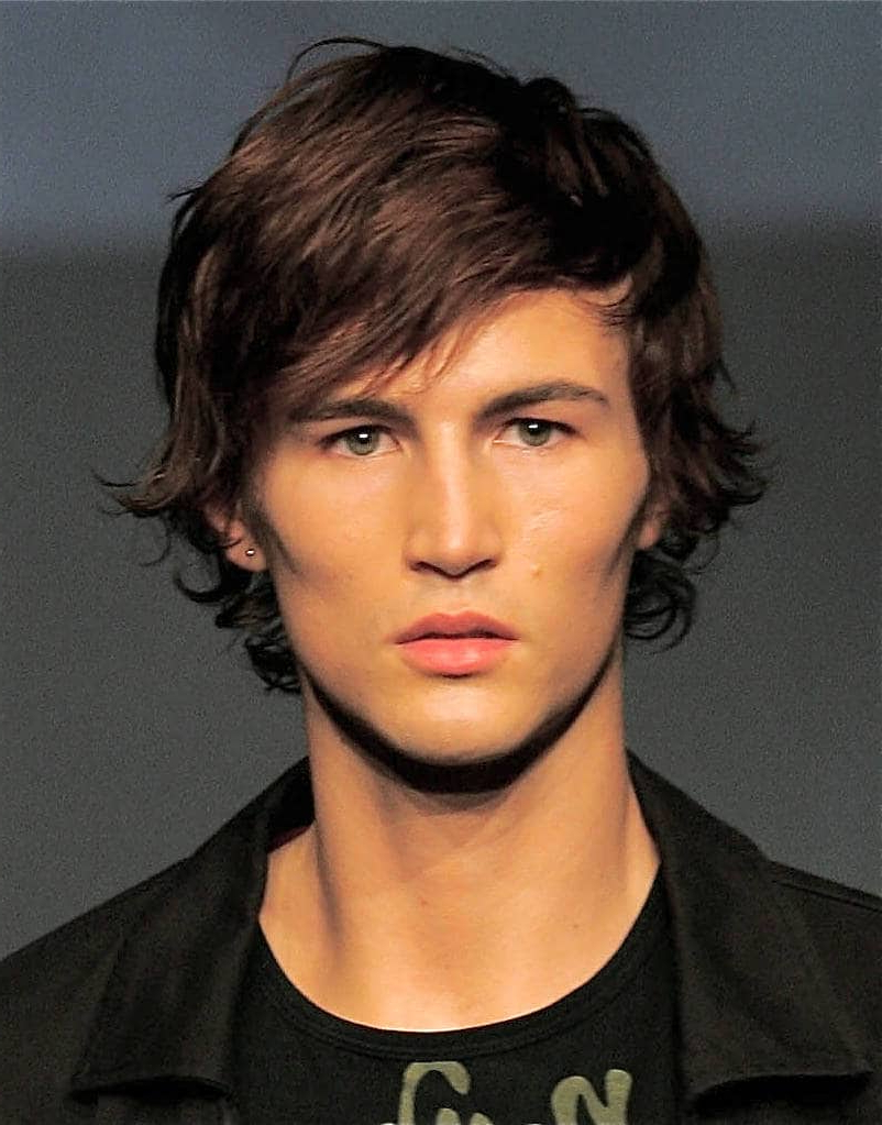 Medium Shaggy Hairstyles For Fine Hair Men – Hairstylevill Pertaining To Preferred Shaggy Medium Hairstyles (View 14 of 20)