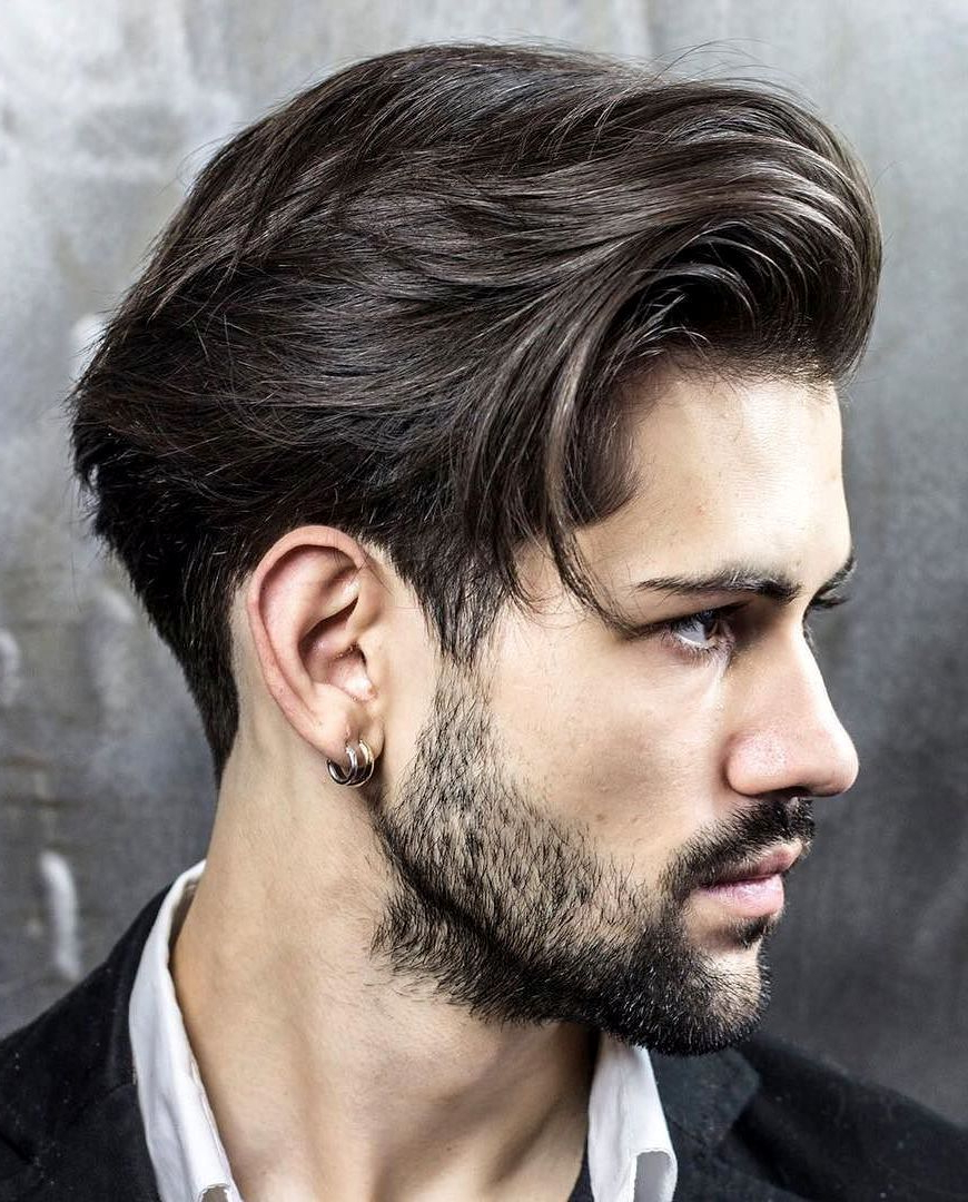 Mens Medium Hairstyles – Try Something Cool With Medium Length Hair Within Favorite Side Swept Medium Hairstyles (View 3 of 20)