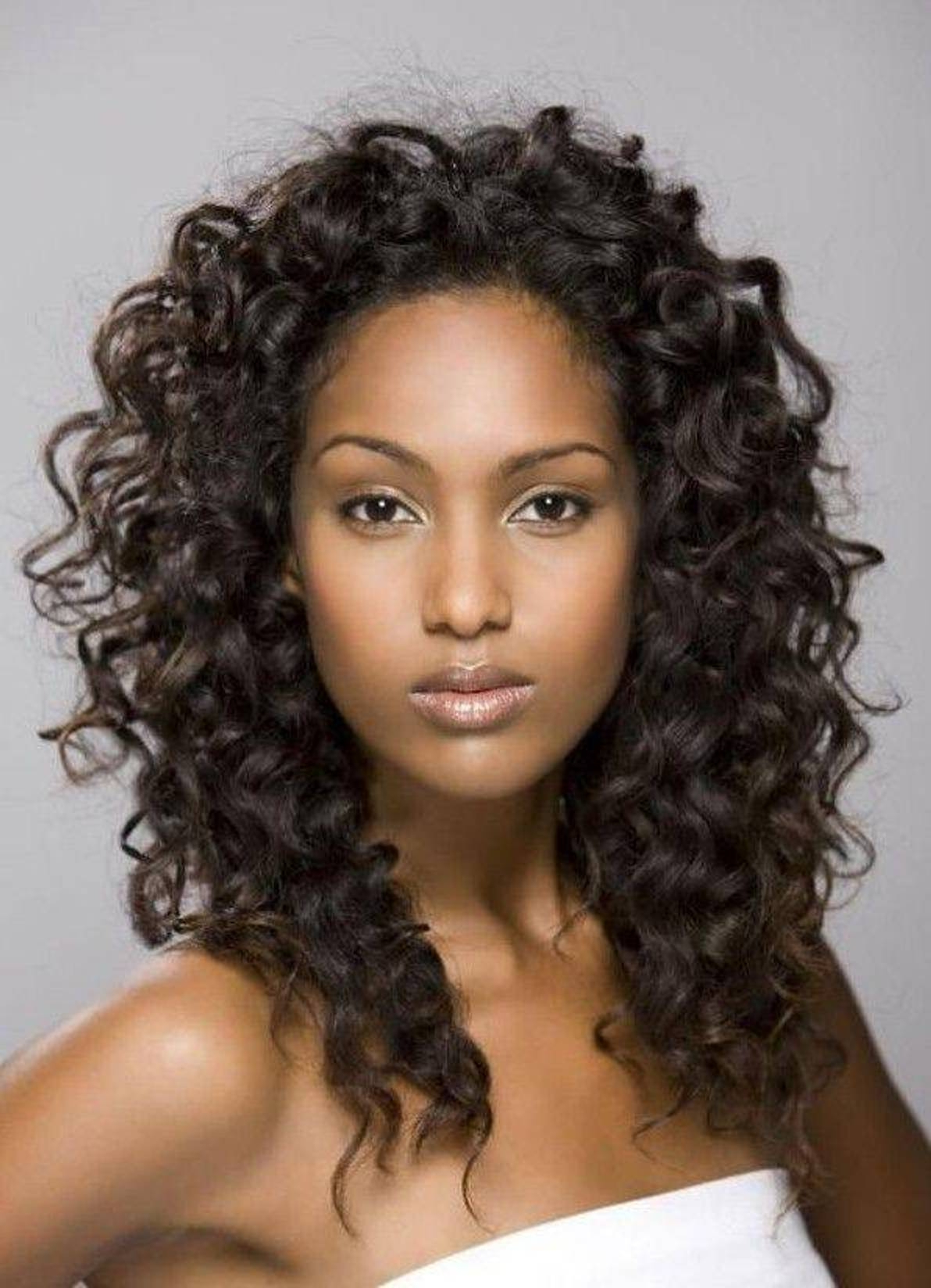 Mesmerizing Hair Idea In Respect Of Medium Curly Hairstyles For Throughout Current Bob Medium Hairstyles For Black Women (View 13 of 20)