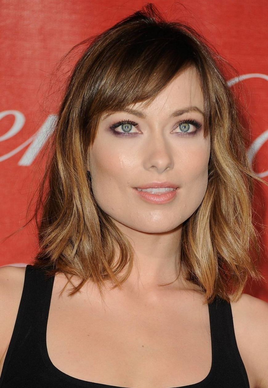 Mid Length Hairstyles No Fringe » Best Hairstyles & Haircuts For All Pertaining To 2018 Medium Hairstyles No Bangs (View 12 of 20)