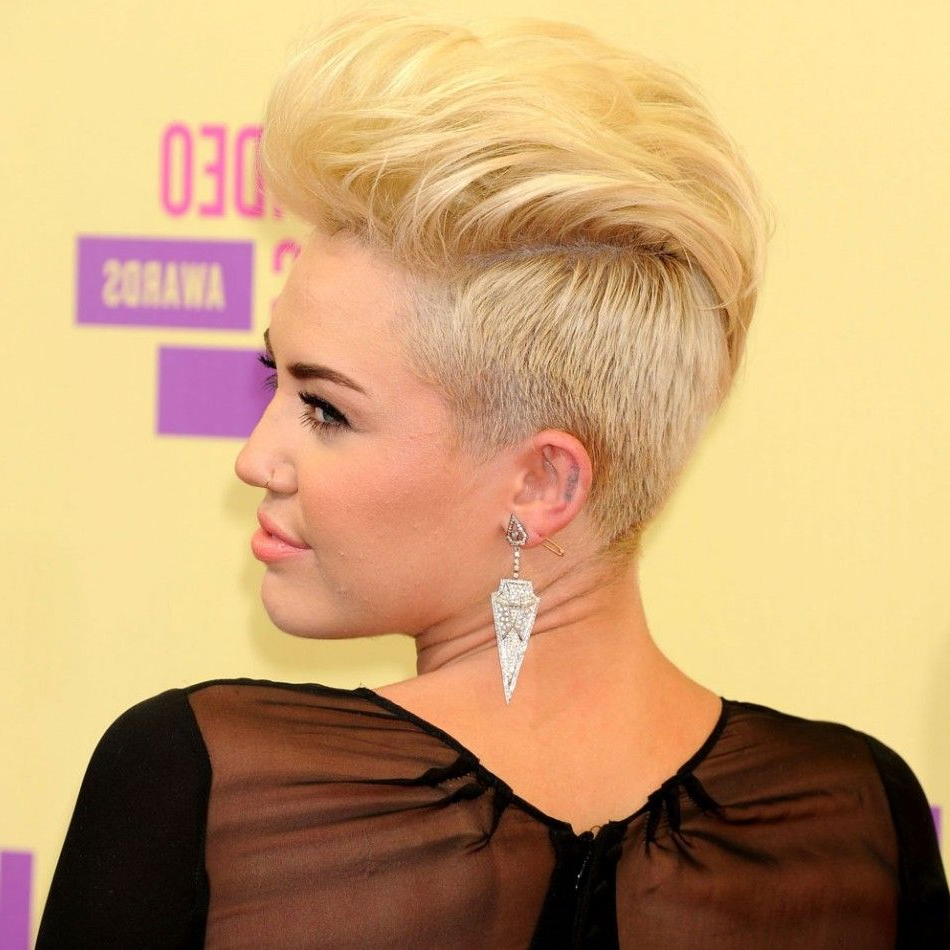 Miley Cyrus Haircut Spring Pictures (View 11 of 20)