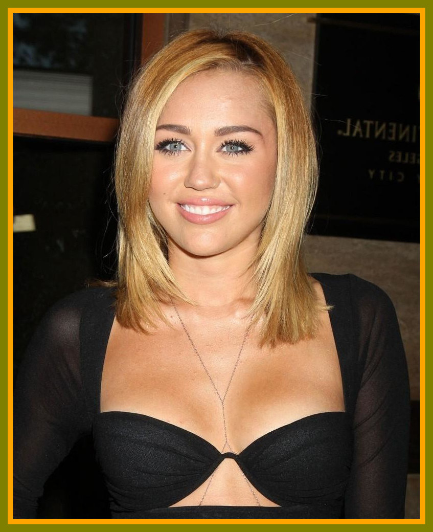 Miley Cyrus Medium Haircut The Best Cuts For Fine, Naturally Curly Intended For Fashionable Miley Cyrus Medium Haircuts (View 3 of 20)