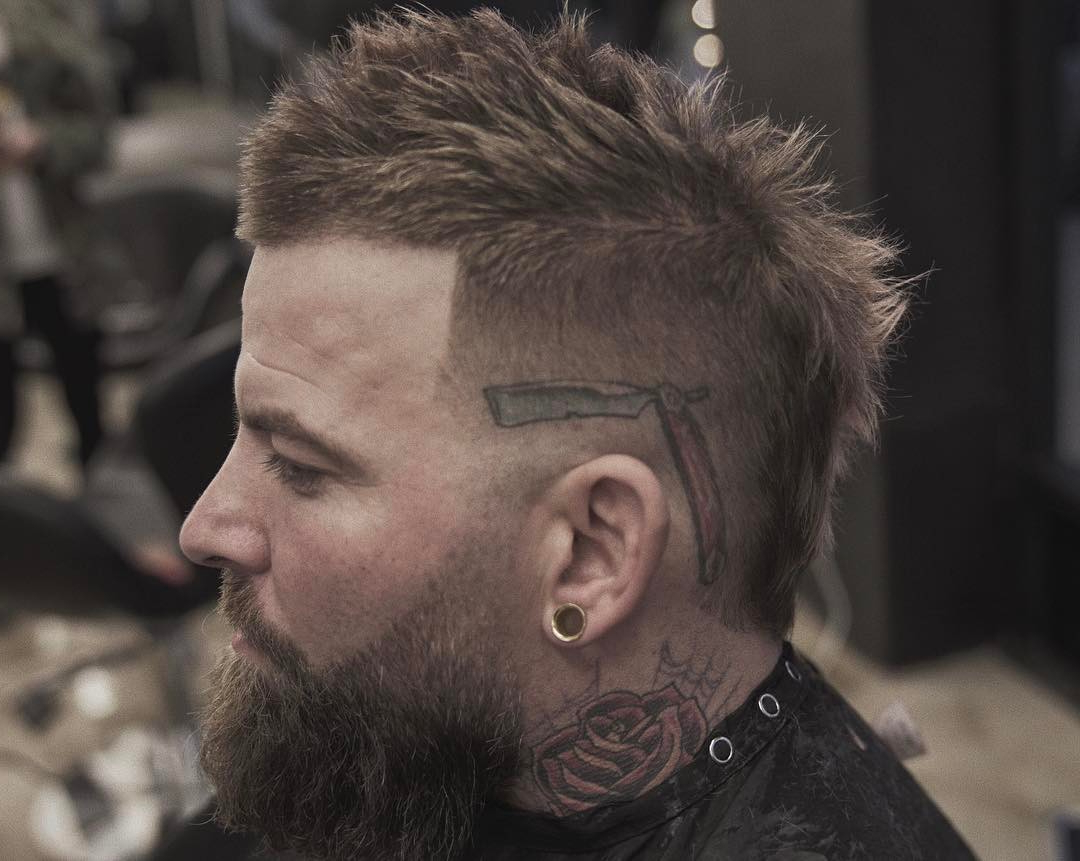 Mohawk Fade Haircuts In Most Current Short Mohawk Hairstyles (View 12 of 20)
