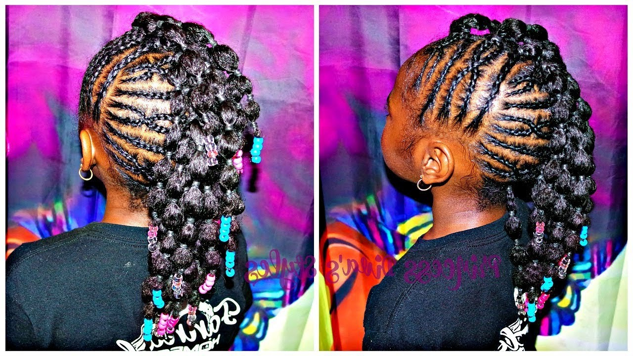 Mohawk With Bubble Ponies (View 12 of 20)