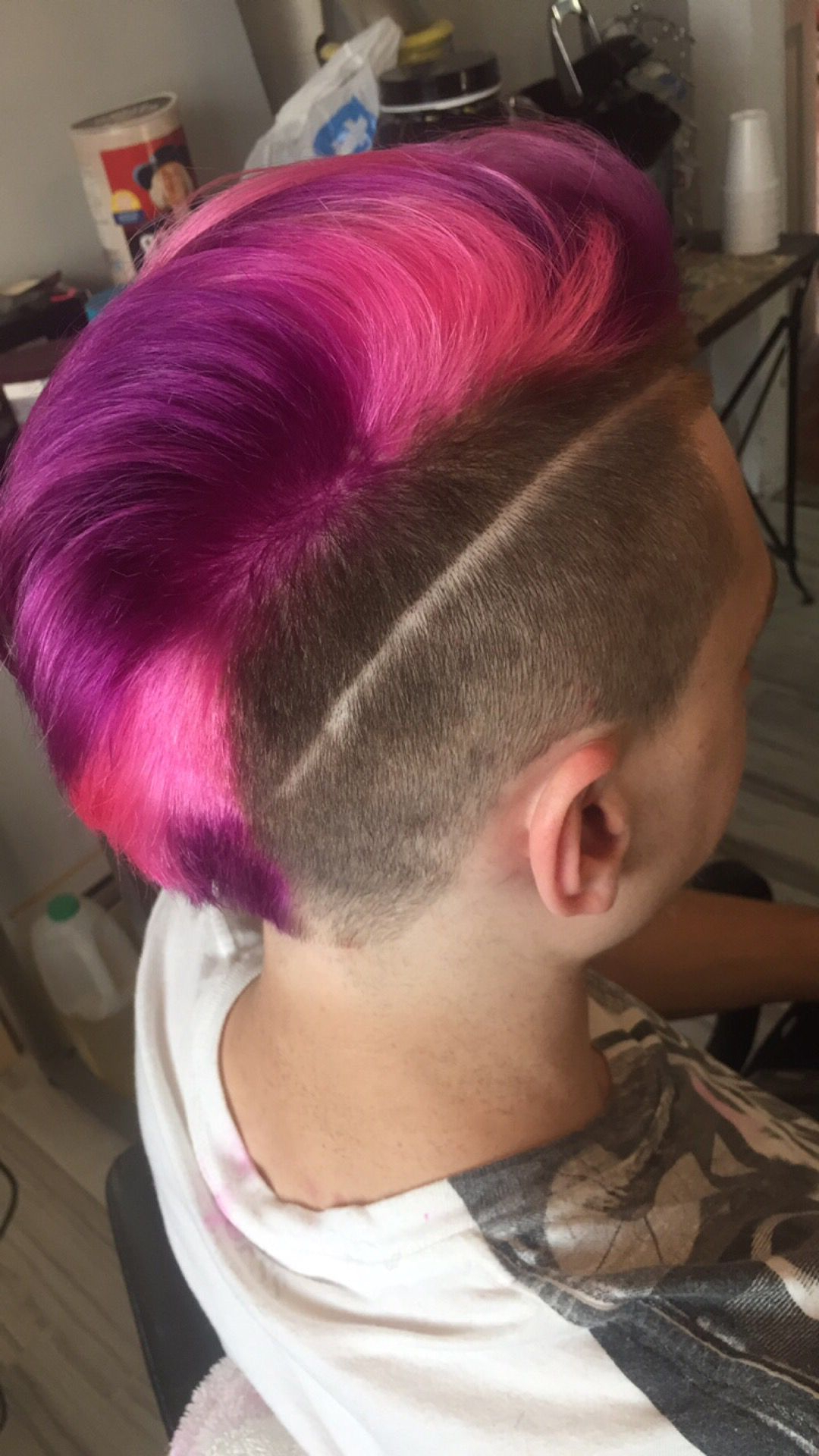 Featured Photo of Pink And Purple Mohawk Hairstyles