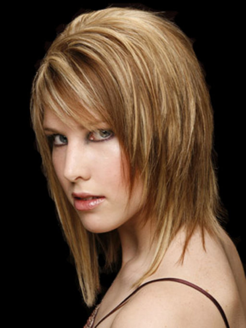 Most Current Choppy Medium Hairstyles For Thick Hair With Regard To Layered Medium Hair – Hairstyle For Women & Man (View 16 of 20)