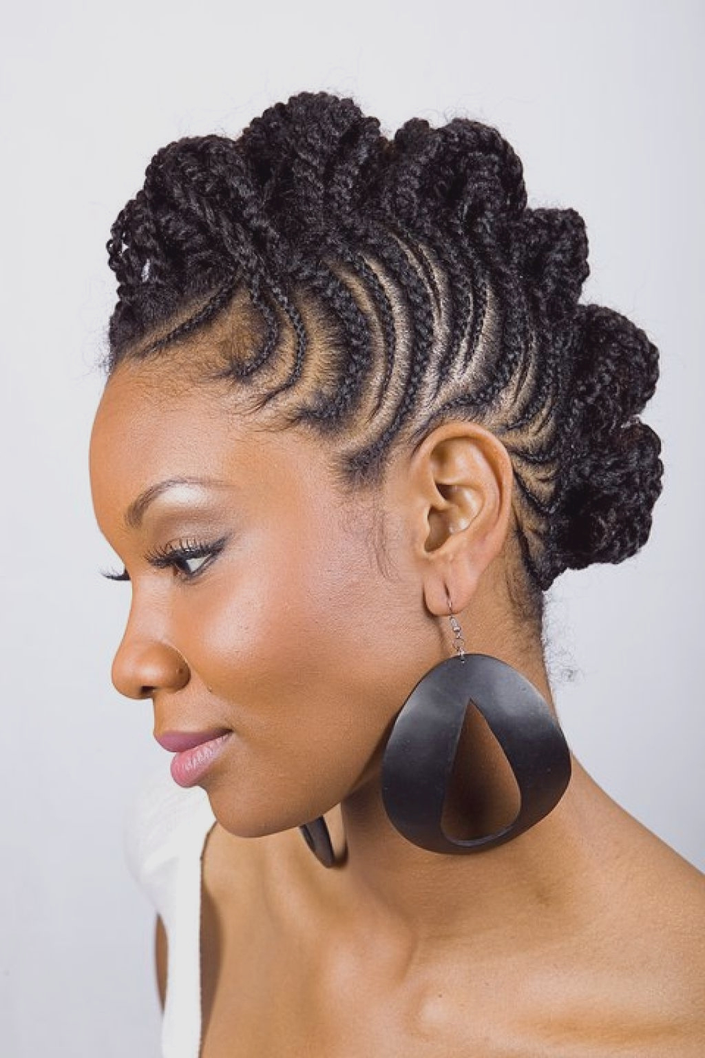 Most Current Designed Mohawk Hairstyles Throughout Girls Hairstyles : Fresh Braided Mohawk Hairstyles For Girls Images (View 10 of 20)