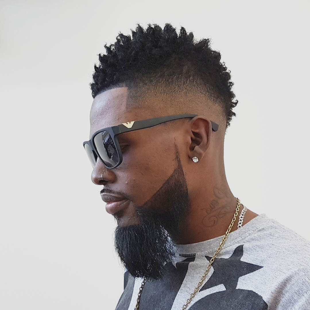 Most Current Designed Mohawk Hairstyles Within Black Hairstyles : New Mohawk Hairstyles Black Men Luxury Home (View 18 of 20)