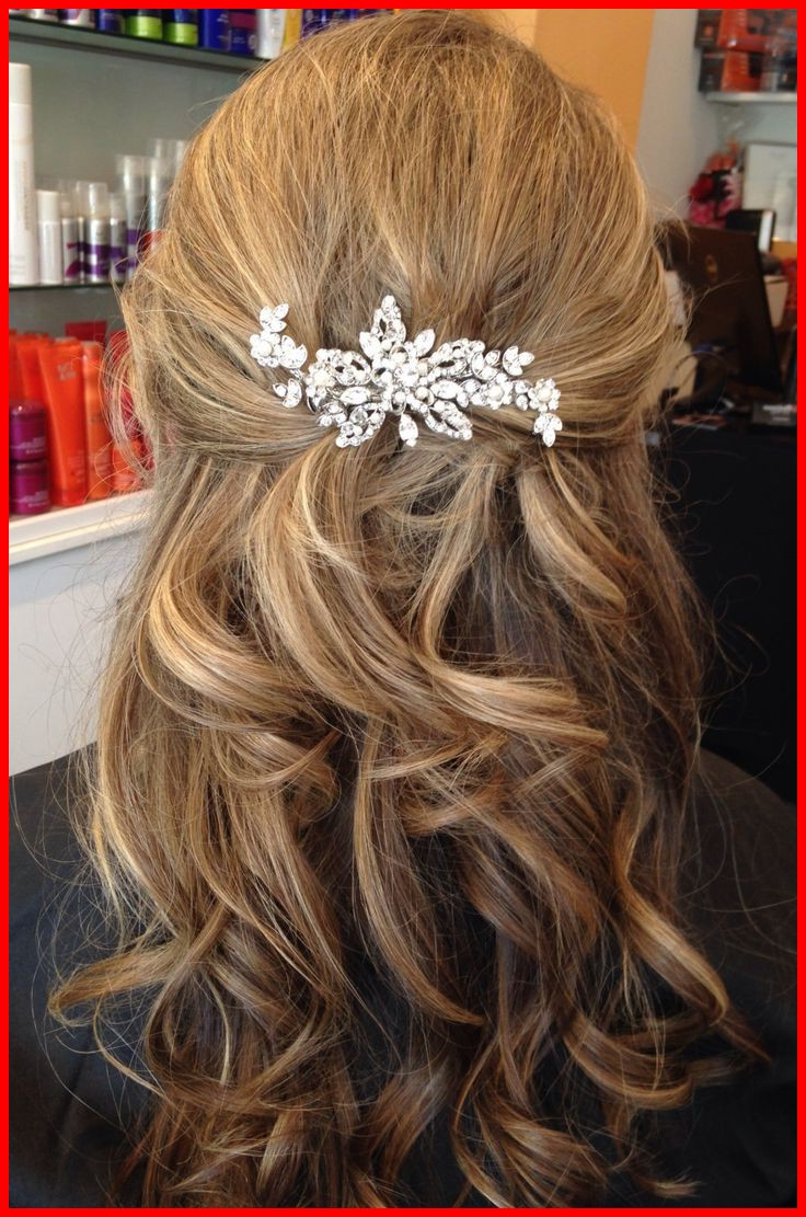 Most Current Half Up Half Down Medium Hairstyles Regarding Medium Length Wedding Hairstyles 225260 Image Result For Half Up (View 11 of 20)