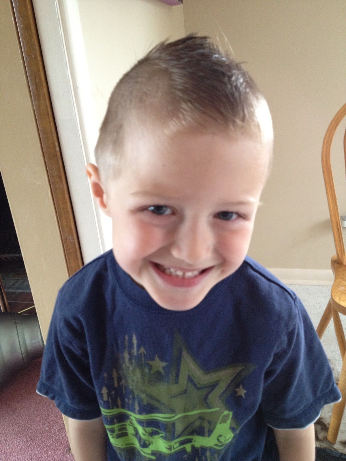 Most Current Innocent And Sweet Mohawk Hairstyles Regarding Crafty Kris: Little Boy Mohawk Haircuts For Toddler Boys (View 12 of 20)