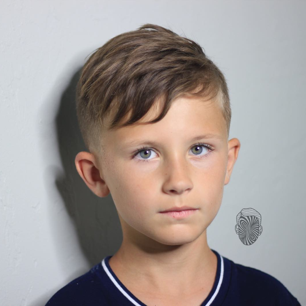 Most Current Kids Medium Haircuts With Bangs Within Boys Fade Haircuts (View 14 of 20)