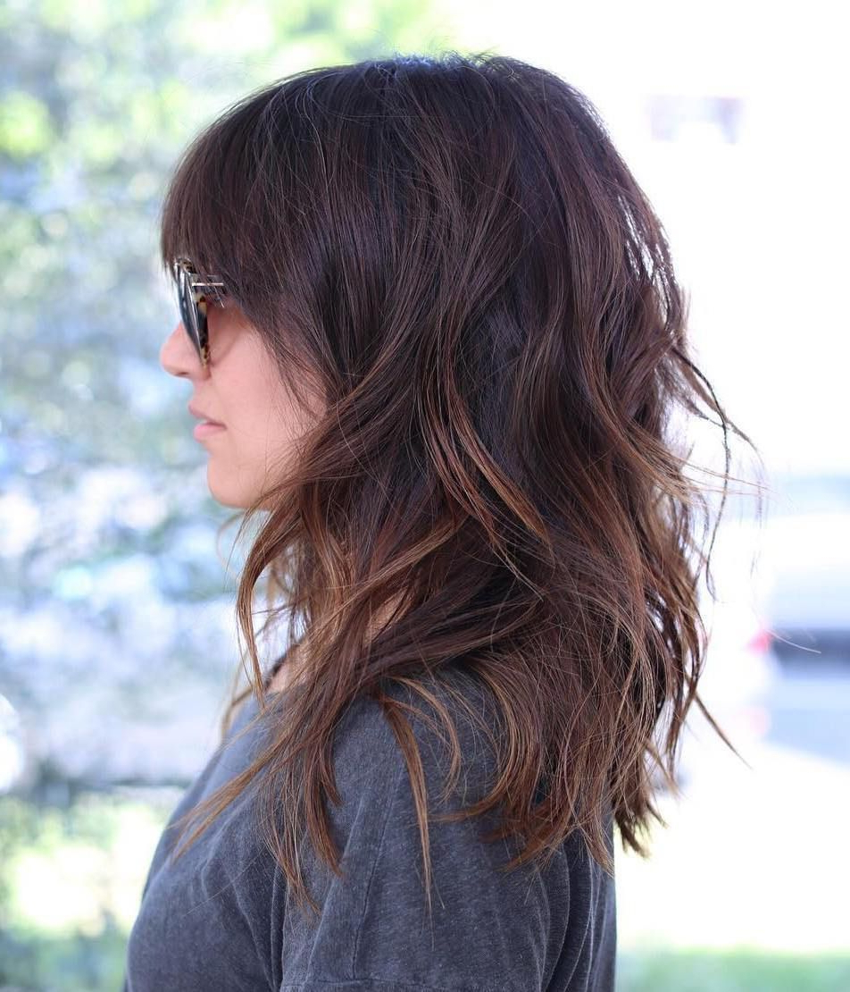 Most Current Layered Medium Haircuts With Layered Medium Haircuts For Thick Hair – Latest Haircut Ideas (View 14 of 20)