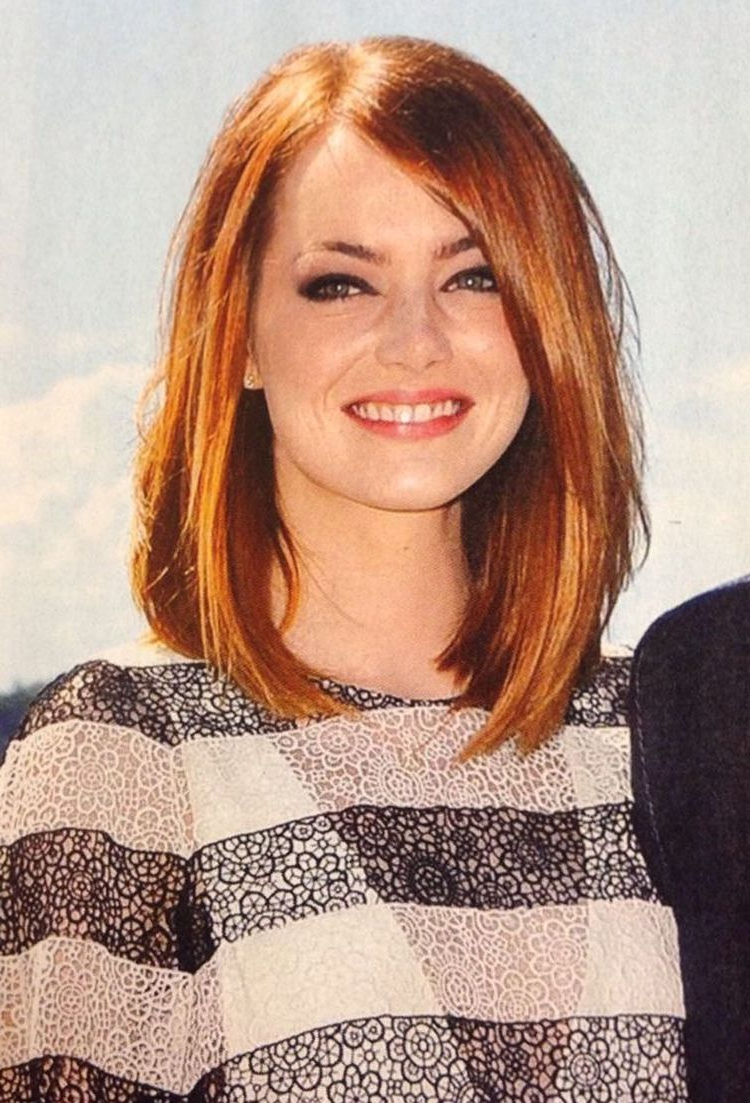 Most Current Medium Haircuts For Big Face In Medium Length Haircut For Round Face New Hairstyle 2014 Medium (View 2 of 20)