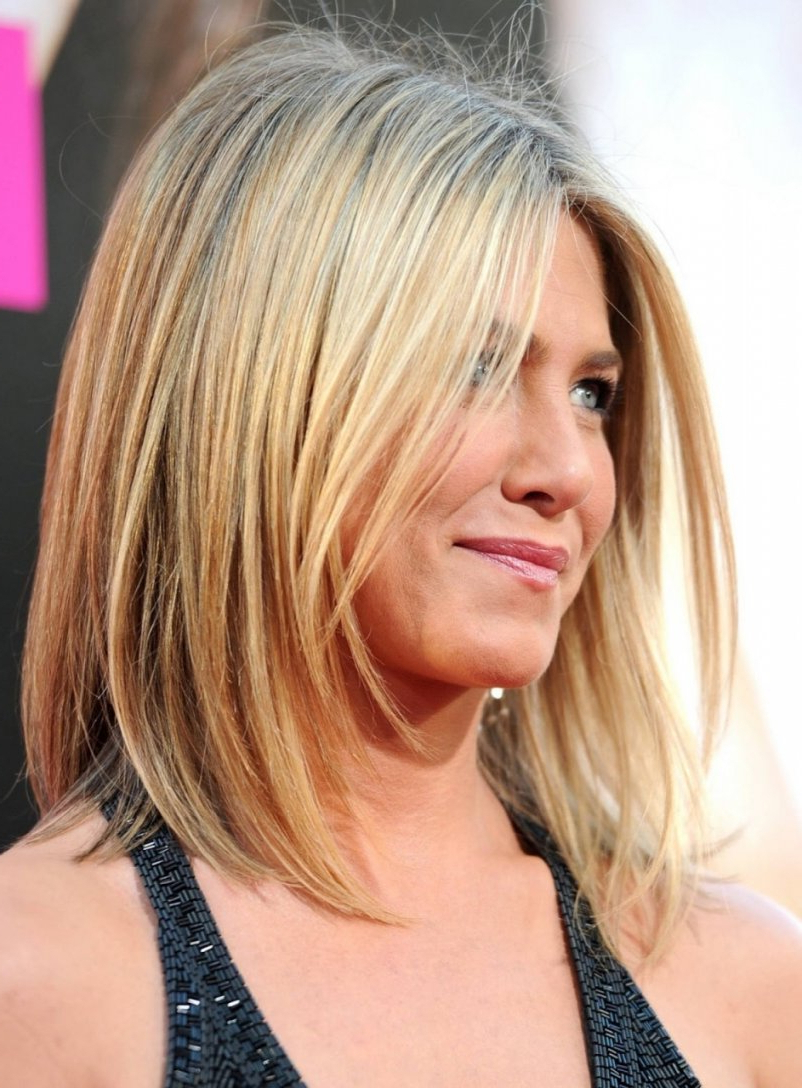 Most Current Medium Hairstyles Fine Straight Hair Inside 70 Short Hairstyles For Thin Fine Straight Hair Lovely Medium » Best (View 12 of 20)