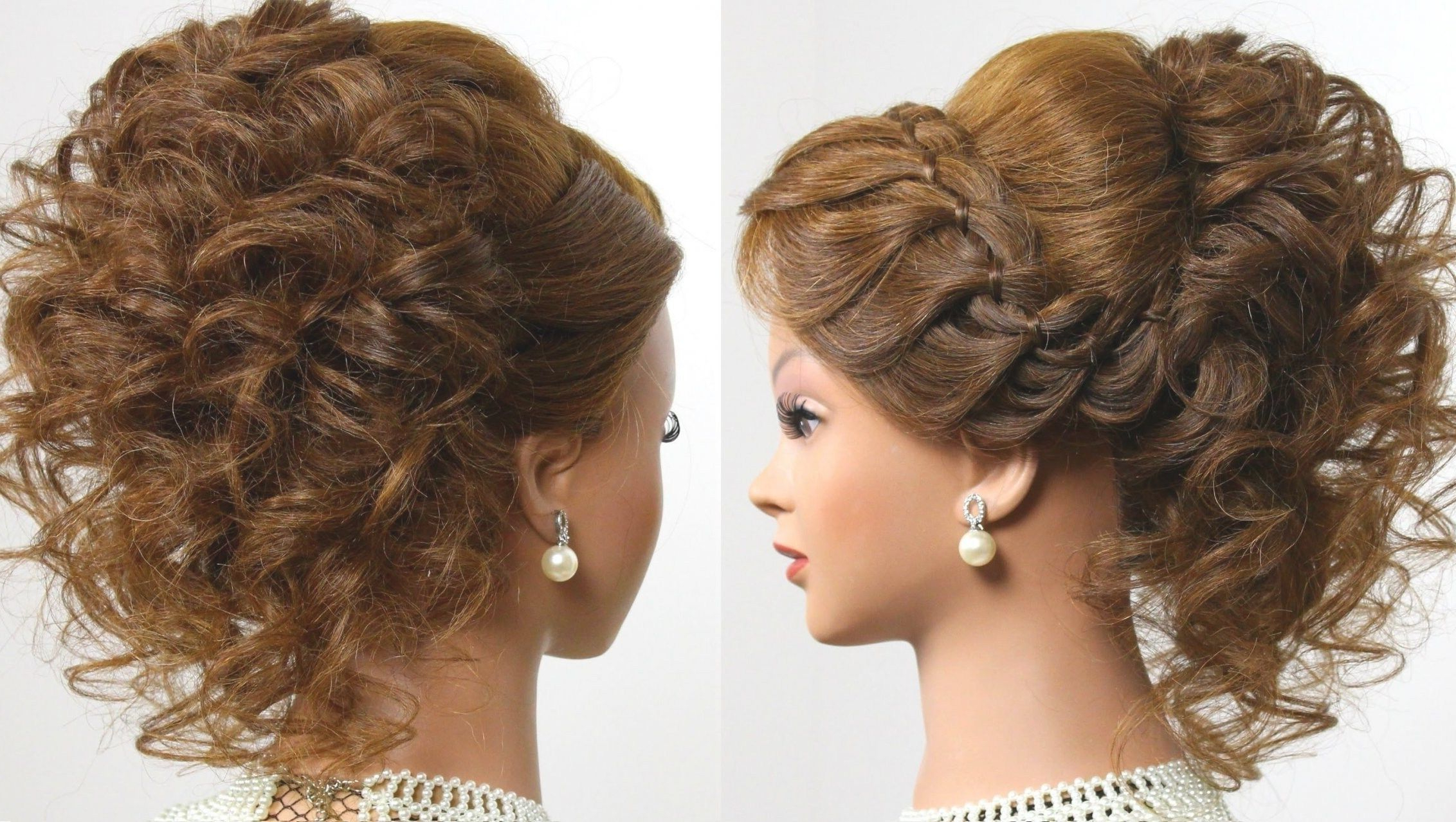Most Current Medium Hairstyles For Prom Updos Regarding Wedding Hairstyles For Short To Medium Length Hair (View 5 of 20)