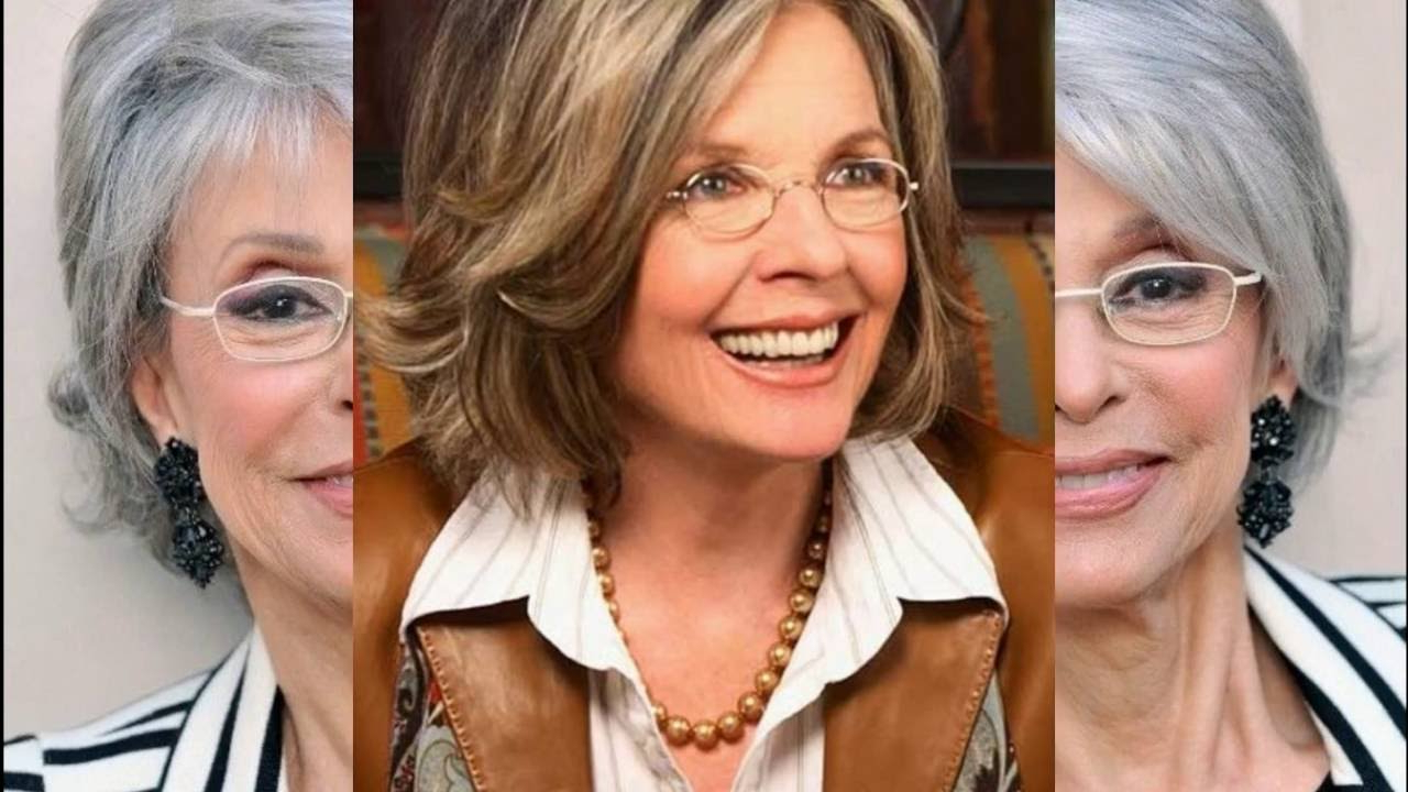 Most Current Medium Hairstyles For Women With Glasses Regarding Hairstyles For Older Women । 30 Classy And Simple Short Hairstyles (View 10 of 20)