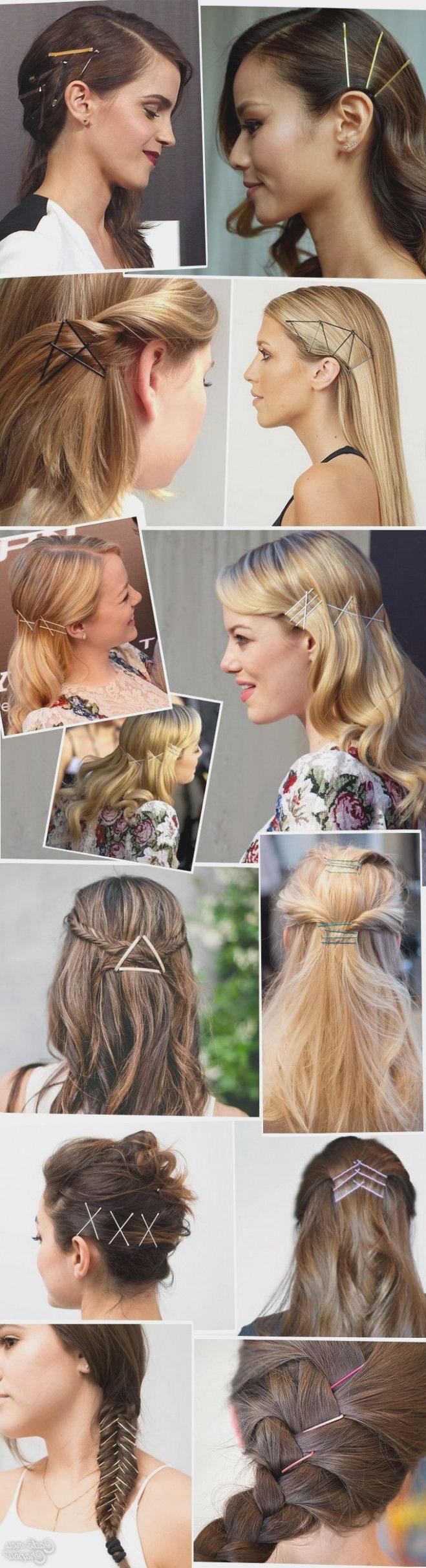 Most Current Medium Hairstyles With Bobby Pins Pertaining To Er Frisyrer Med Bobby Pins For Medium Hår Noe Bra? 32 Måter Du Kan (View 16 of 20)