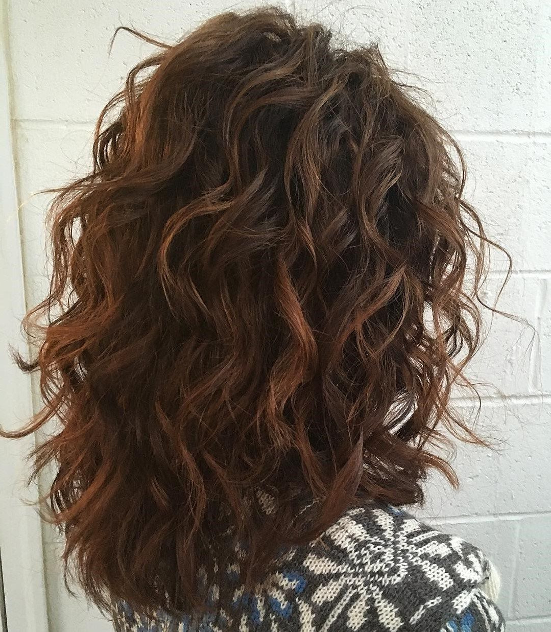 Most Current Medium Hairstyles With Layers And Curls In 60 Most Beneficial Haircuts For Thick Hair Of Any Length In  (View 10 of 20)