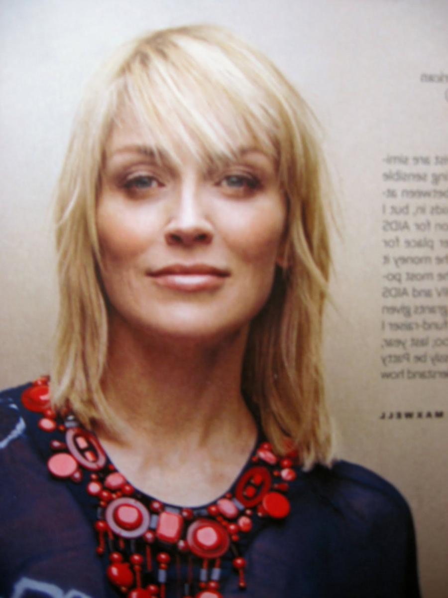 Most Current Sharon Stone Medium Haircuts Intended For Sharon Stone Medium Hairstyles – Hairstyles (View 9 of 20)